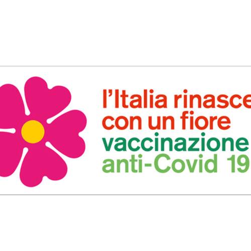 Vaccinazione Anti-COVID19: l'Italia rinasce con un fiore
